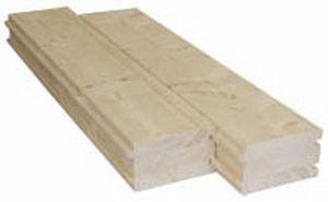 wooden deck slab
