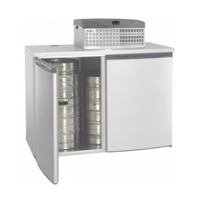 commercial beverage cooler / horizontal / 2-door