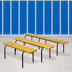 contemporary locker room bench