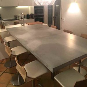 Concrete Dining Table All Architecture And Design Manufacturers Videos