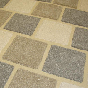 anti-slip paver / resin / drive-over / pedestrian