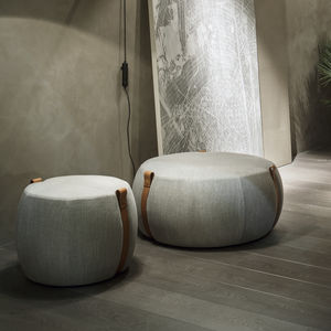 contemporary pouf