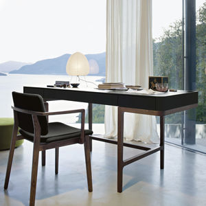 lacquered wood desk / solid wood / contemporary / by Roberto Lazzeroni