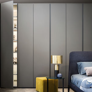 wardrobe with air cleaning system / wall-mounted / modular / contemporary