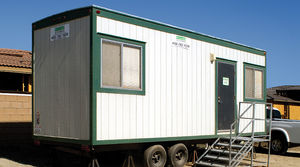 industrial use container construction / for office