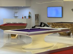 contemporary pool table / convertible dining table / high-end / commercial
