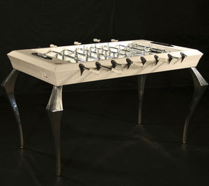 original design foosball table / high-end / for sports activities / chromed metal