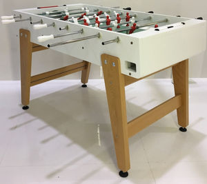 contemporary foosball table / high-end / for sports activities / walnut