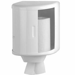 wall-mounted paper towel dispenser / steel
