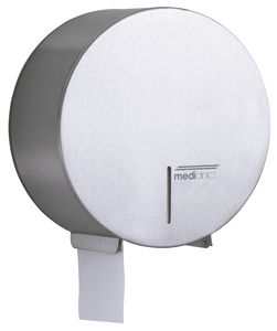 wall-mounted toilet paper dispenser / stainless steel / commercial