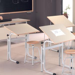 metal drafting table