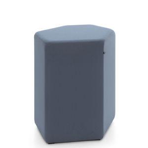 contemporary pouf
