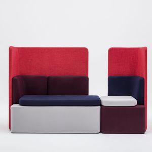 modular sofa / contemporary / for reception areas / fabric