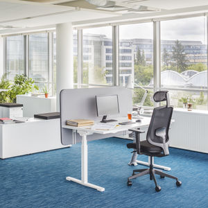workstation desk / melamine / contemporary / for office