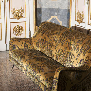 upholstery fabric / patterned / velvet / jacquard