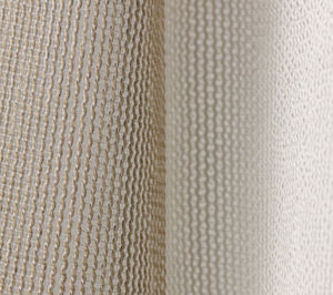 plain sheer curtain fabric / PES / Trevira CS® / fire-rated
