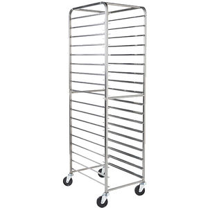 baked goods trolley / for food trays / for commercial kitchens / stainless steel