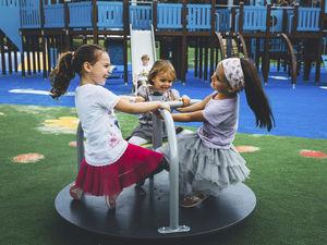 children's playground spinner