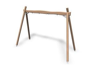 wood swing / playground
