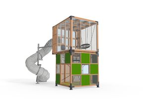 play structure for public buildings