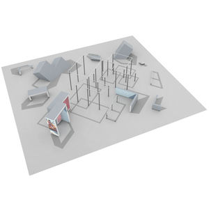 playground obstacle course / for sports facilities