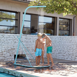 lacquered aluminum garden shower / home