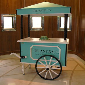 ice cream cart / commercial / refrigerated