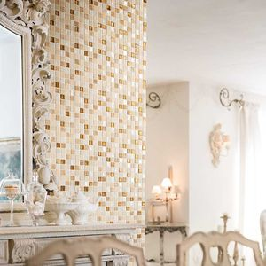 indoor mosaic tiles / wall / ceramic / 30x30 cm