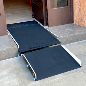 rubber access ramp