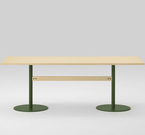 contemporary table / oak / ash / maple