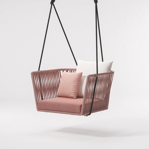 contemporary armchair / rope / hanging / by Rodolfo Dordoni