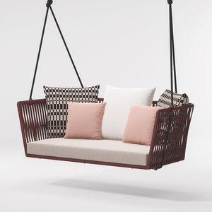 rope garden swing seat / aluminum / for hotel / for restaurants