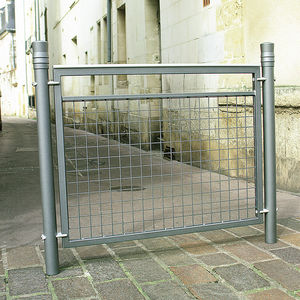 protective barrier / fixed / aluminum / wire mesh