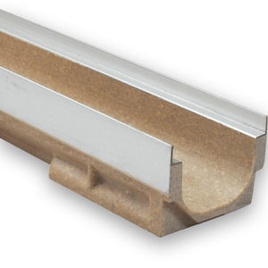 drainage channel with grating