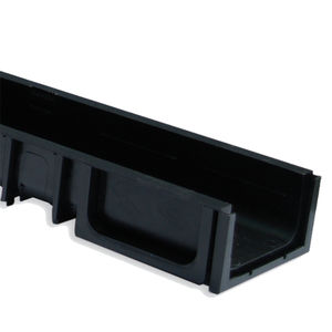 galvanized steel drainage channel / stainless steel / cast iron / polypropylene