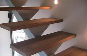 wooden step covering