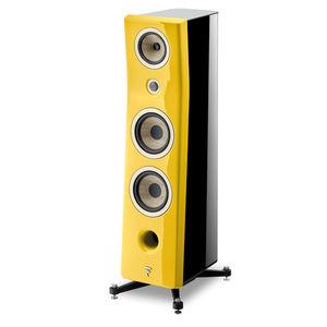 tower speaker / wood veneer