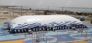 athletic field inflatable structure