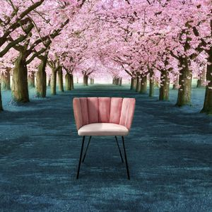 contemporary chair / upholstered / fabric / leather