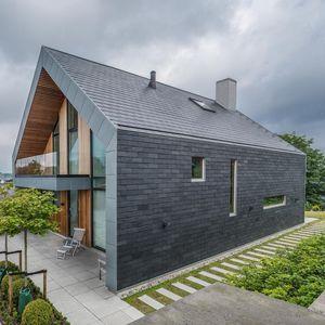 slate ventilated facade / sheet