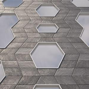 metal ventilated facade