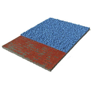 synthetic sports flooring / EPDM / polyurethane / for outdoor use