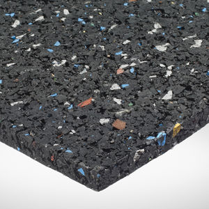 waterproof insulation / sound / rubber / for flat roofs