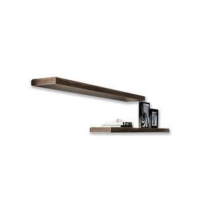 wall-mounted shelf / contemporary / steel / ceramic