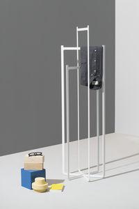 free-standing coat hanger rack