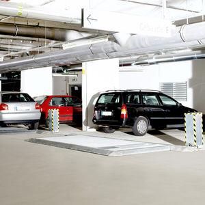 sliding parking platform
