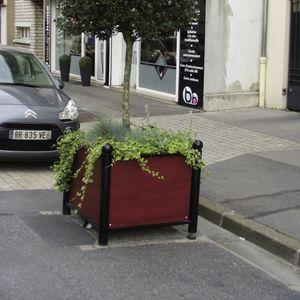 galvanized steel Versailles planter