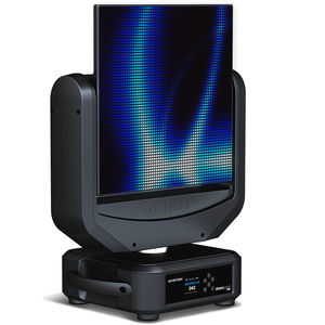 IP20 moving head spot / RGB LED / commercial / wash