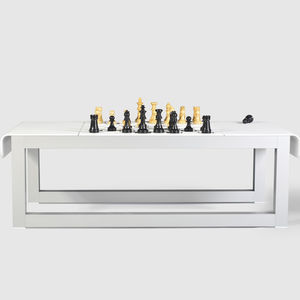 contemporary chess table / home