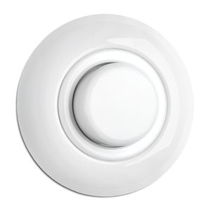 light dimmer switch / rotating / recessed / porcelain